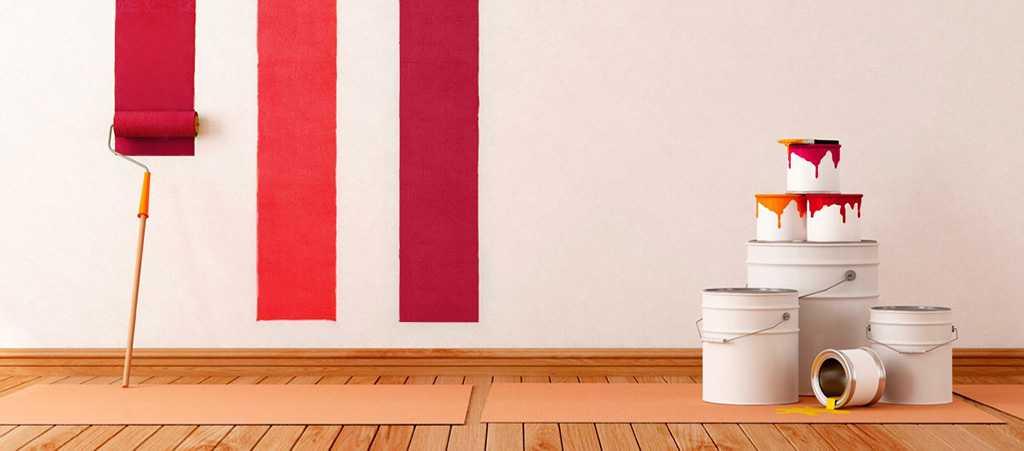 Интерьерные краски для квартиры