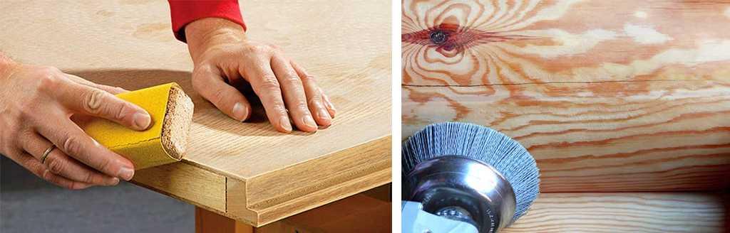 Подготовка деревянной поверхности к покраске