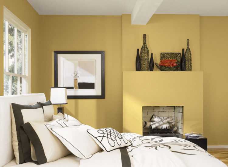 Выбор цветовой гаммы для стен в спальне