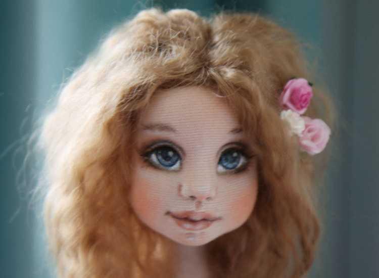 Глаза Куклы акриловыми красками