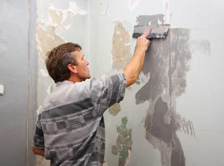 Подготовка к покраске стен