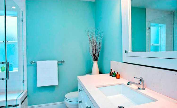 Акриловая краска для стен ванной