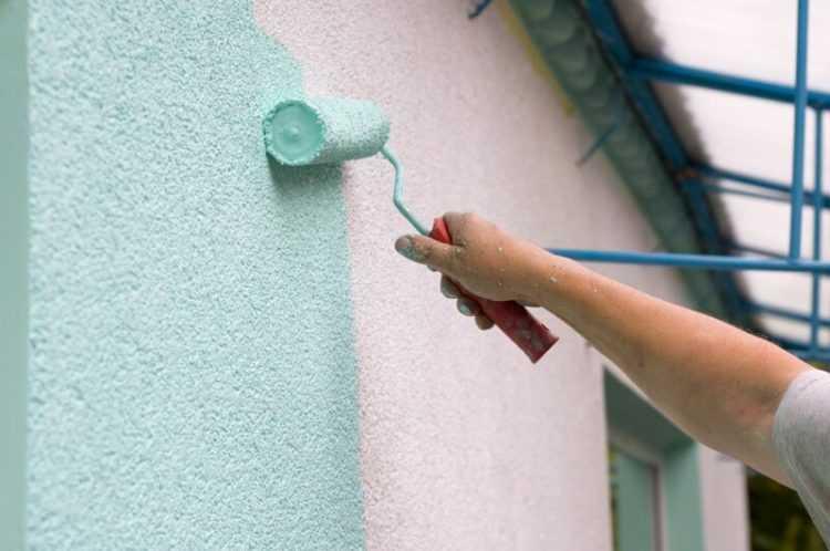 Краска водоэмульсионная фасадная
