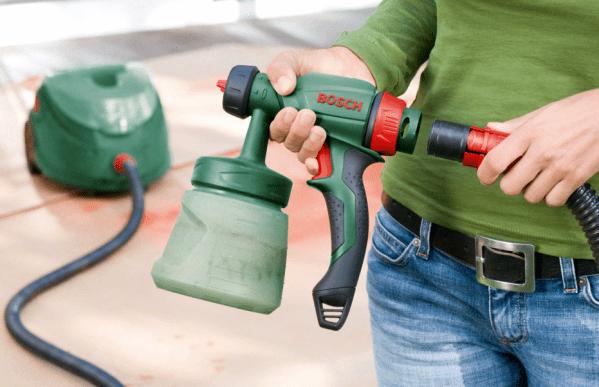 Электрический краскопульт для водоэмульсионной краски