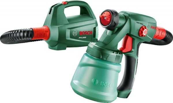 Пульверизатор Bosch PFS 2000