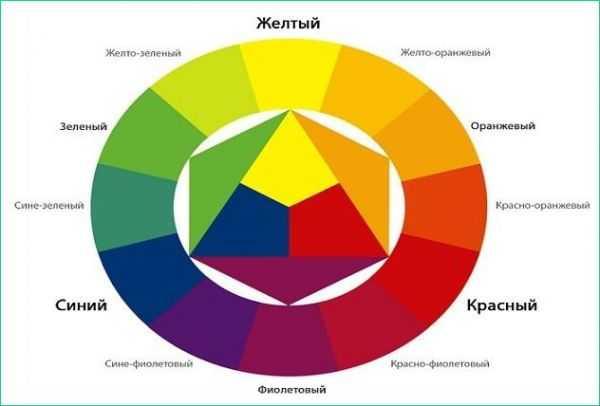 таблица цветов