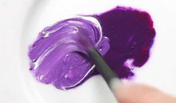 смешивание цветов