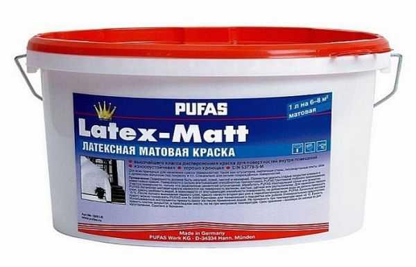 Латексная краска для бетона
