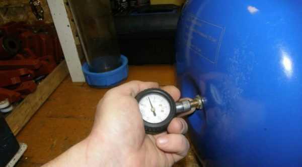 Проверка давления