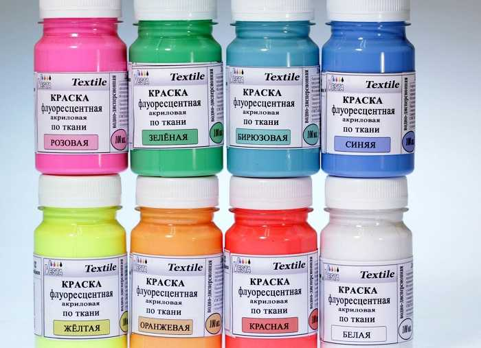 Флуоресцентная акриловая краска