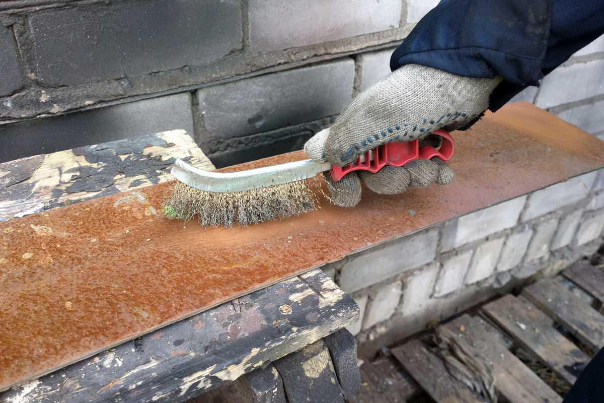 Очистка металла от ржавчины