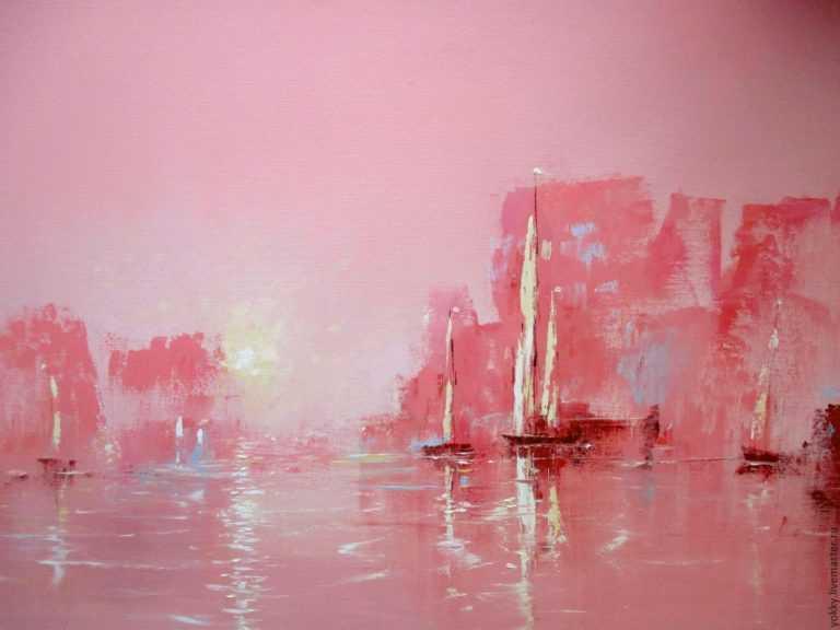 Розовый цвет в художественном творчестве