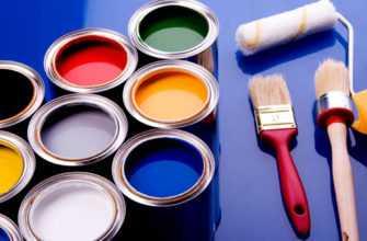 Расход акриловой краски