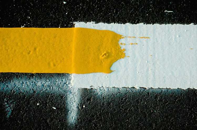 Особенности краски для разметки на дорогах