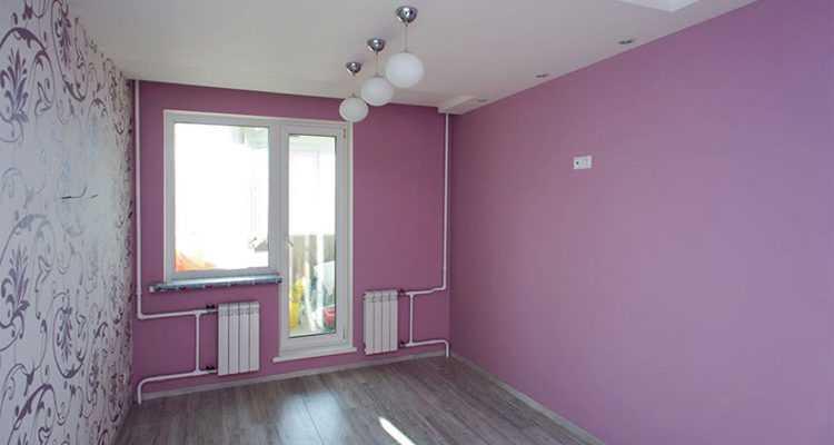 Обои или покраска стен