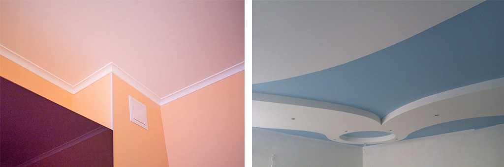 Покраска потолка в квартире вододисперсинной краской
