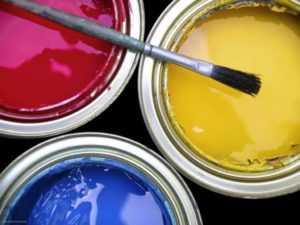 Краска акриловая водоэмульсионная