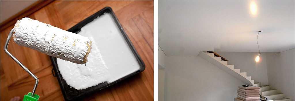Краска для потолка на акриловой основе