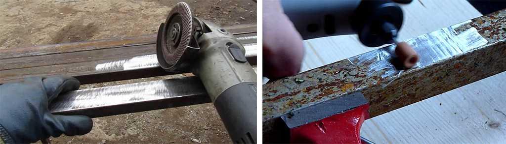 Зачистка металла от ржавчины