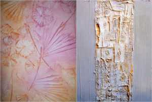 Текстурная краска для стен