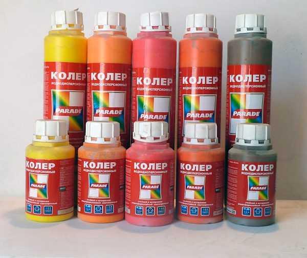 колер цвета для водоэмульсионной краски