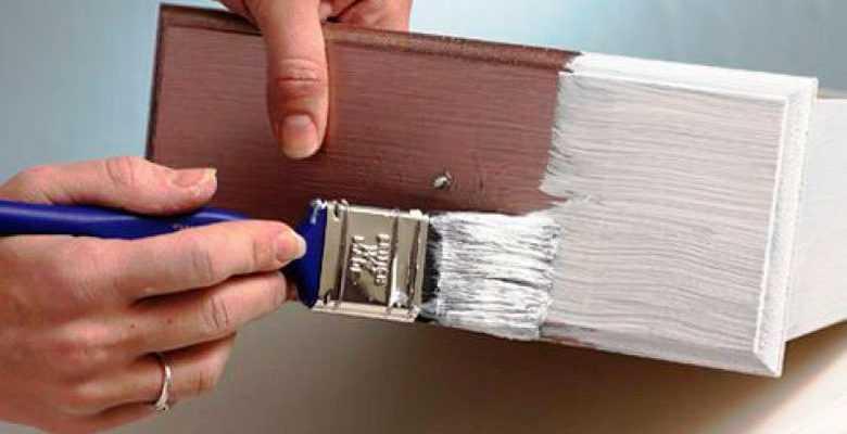 можно ли наносить акриловую краску на эмаль