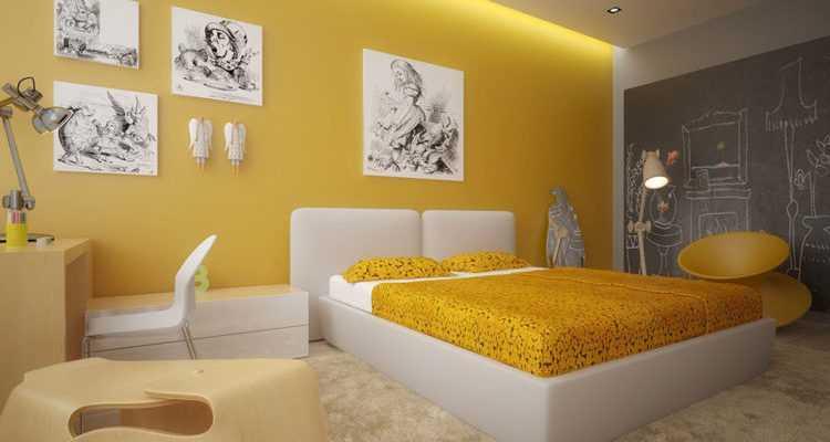 Критерии выбора оттенка для спальни