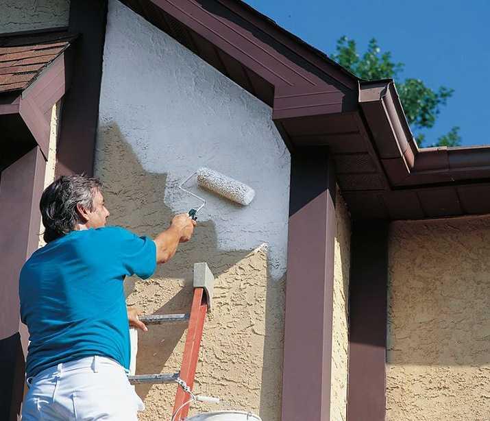 Фасадная водоэмульсионная краска