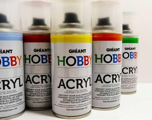 Краски Hobby akryl