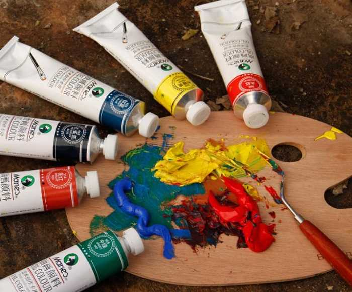Масляные краски для художников