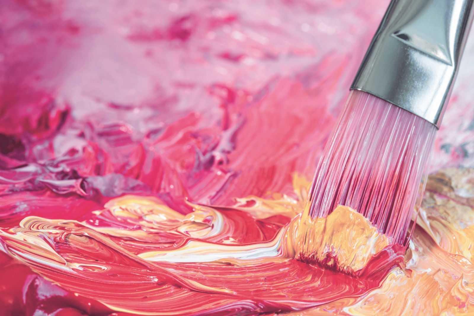 Почему так популярны акриловые краски?