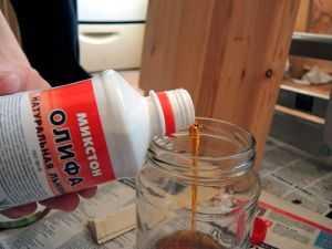 Разбавление масляной краски олифой