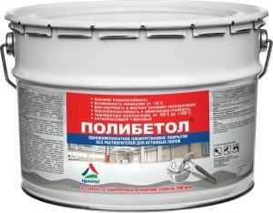 Полиуретановая краска для бетонного пола