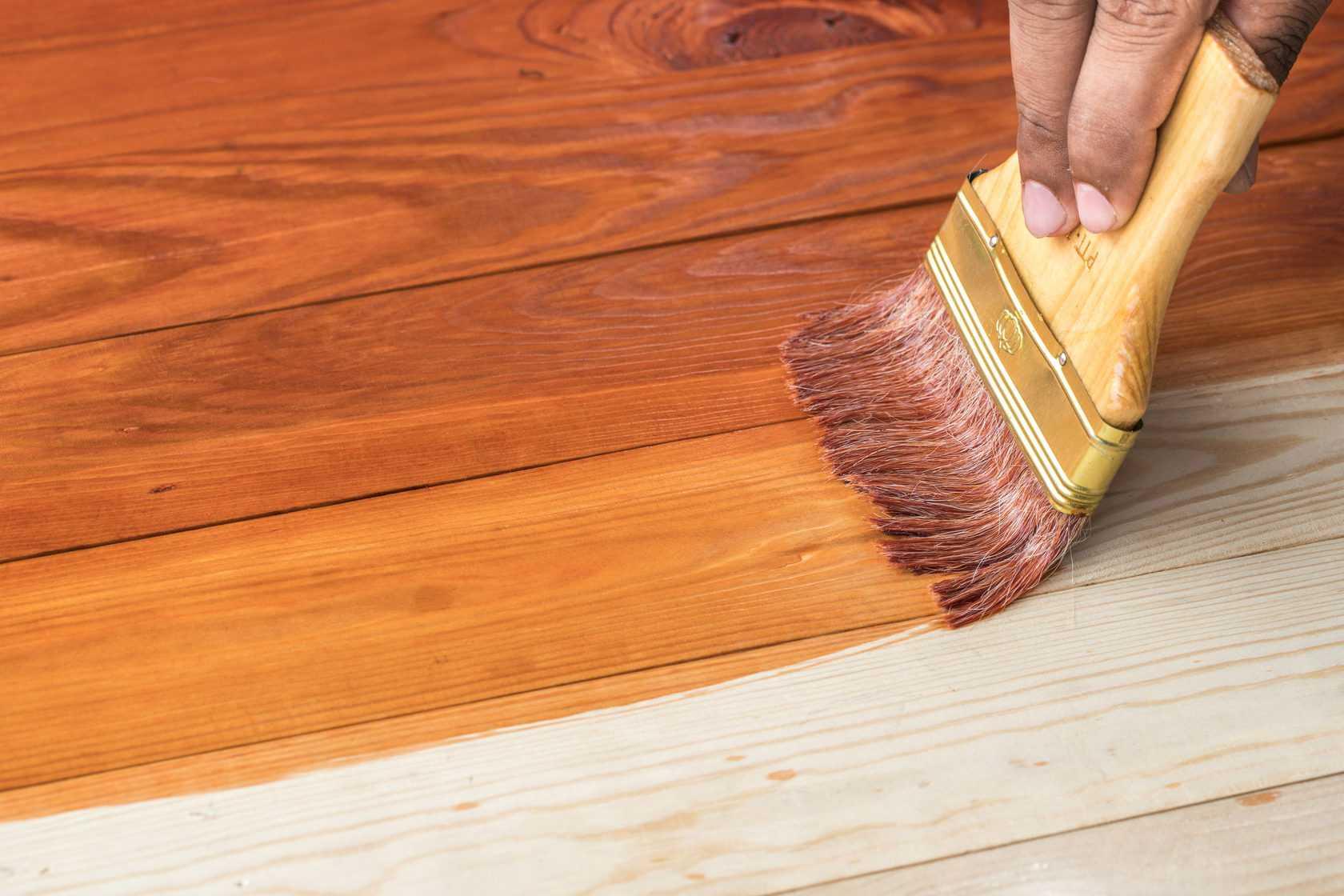 Краска для пола по дереву износостойкая для внутренних работ