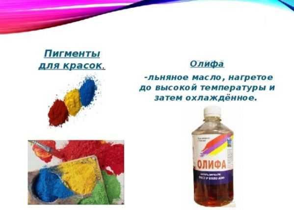 Состав краски
