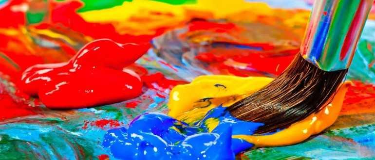 Как получить бордовый цвет при смешивании красок
