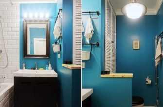 Как покрасить стены в ванной