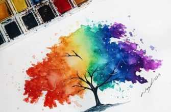 что можно нарисовать красками красиво и легко
