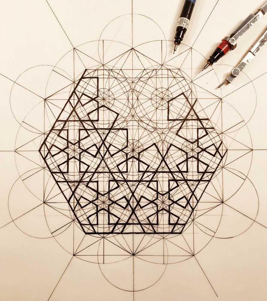 Геометрический рисунок