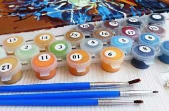 засохли краски для рисования по номерам что делать