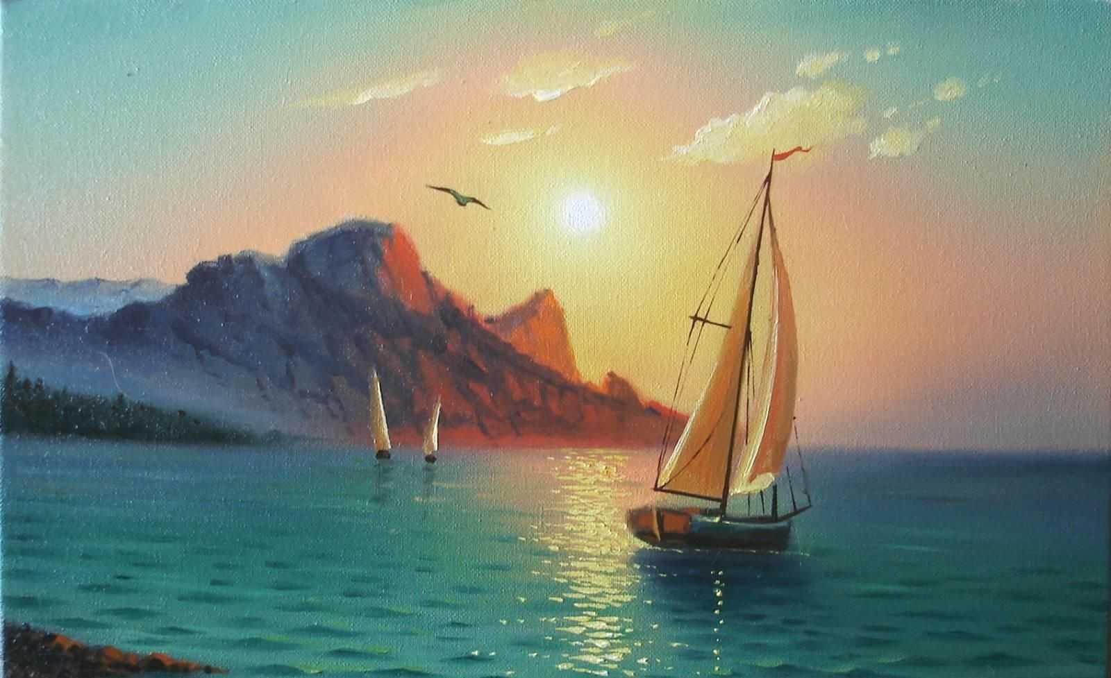 Морская картина