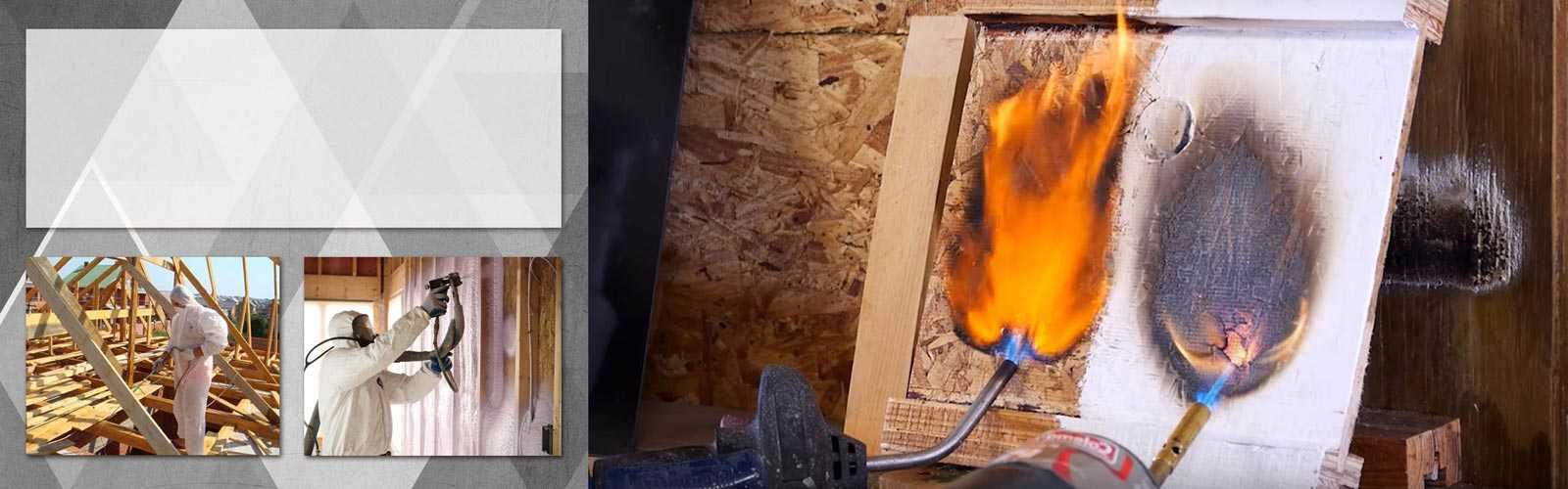 Огнезащитная краска для дерева
