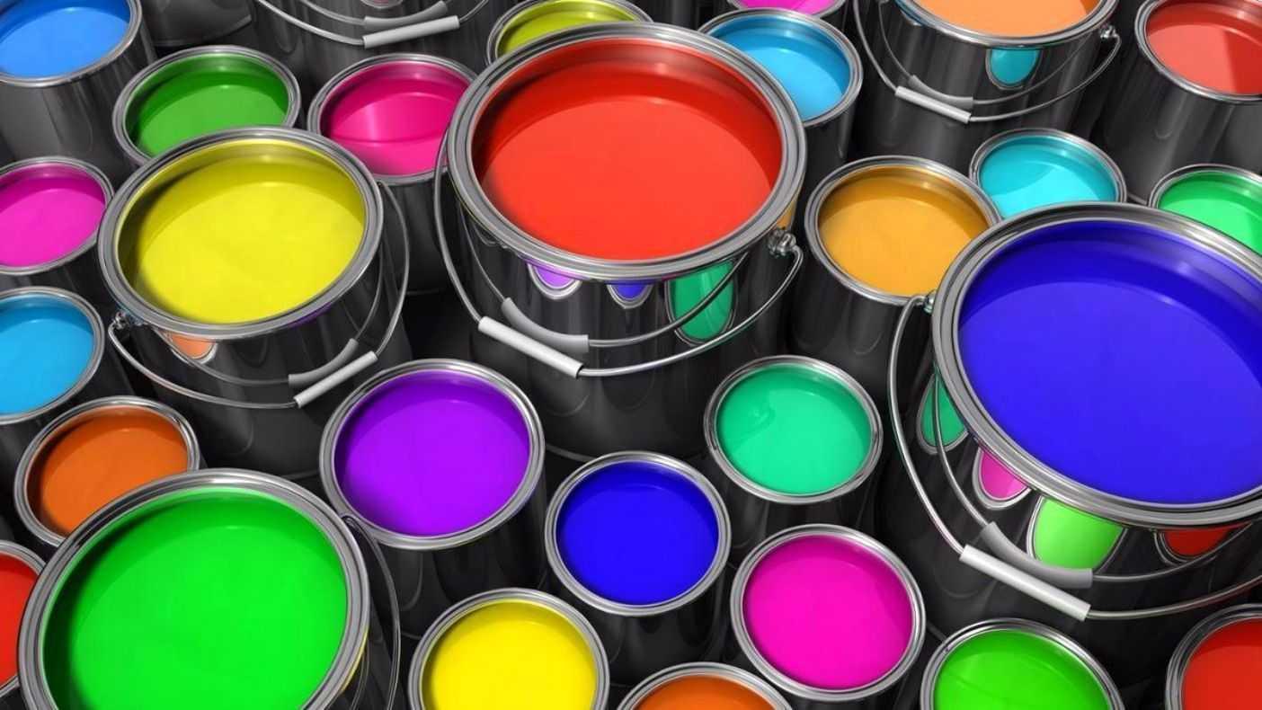 Палитра краски для межкомнатных дверей
