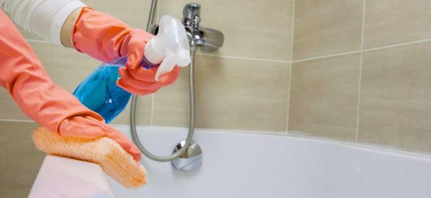 средство для мытья ванны без повреждения эмали