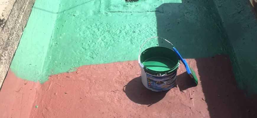 резиновая краска для бетона для наружных работ износостойкая