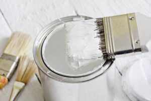 белая краска